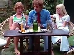 Crazy homemade Group Sex, Retro adult movie