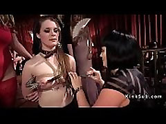 Bdsm orgy orgasms and anal torments