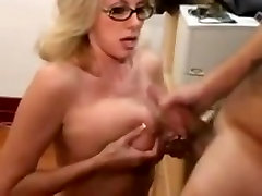 Great cumshots on big tits 41