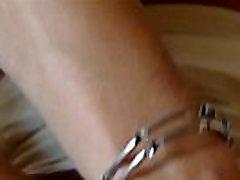 Elegant mature Natalie K love to finger both her holes at home