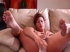 Sexy Soccer-Mom Squirting Juices