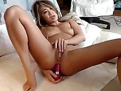 Hot asian girl on webcam