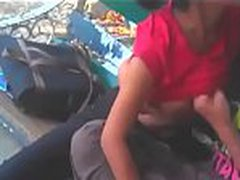 nsaporn.com Indian Teen Boobs Sucked in Park