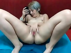 Romania girl gets many orgasm till squirt