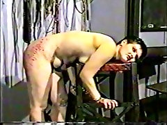 Incredible amateur BDSM, Spanking porn movie
