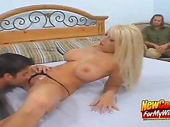 Busty Wifey Candy Mason Pussy Licked