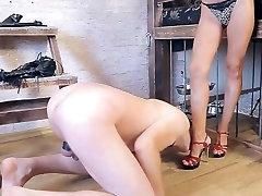 Horny homemade Nudists, Femdom sex video