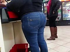 Granny Booty Tight Jeans
