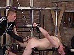 Eli Manuel &amp Ashton Bradley enjoy dildo BDSM games together