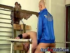 Gay twinks upside down bondage movie An