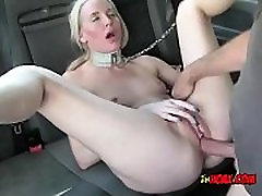 Horny Cougar Lexi Lou Gets Impaled By Driver