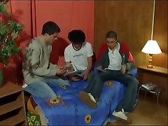 Amazing amateur gay scene with Barebacking, Blowjob scenes