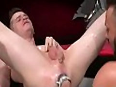 Teen gay ear lick fisting first time Aiden Woods is on his back and
