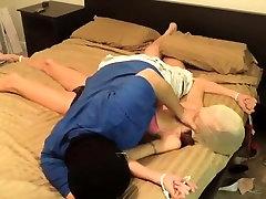 Amazing amateur BDSM porn clip