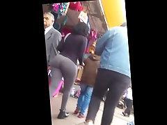Gringa Culona Sexy Black ass ebony Bubble Butt Leggings