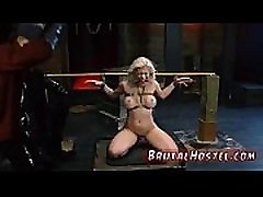 Bdsm fucking machines squirt first time Big-breasted blond hotty