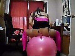 sissy bouncyball slut