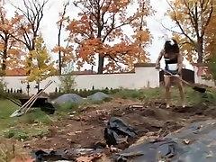 Hottest homemade Fetish, Outdoor sex movie