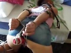 Horny homemade Fetish, public ahenkte porn clip