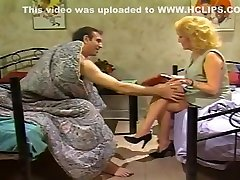 Amazing Homemade record with Lingerie, Stockings scenes