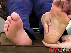Foot fetishes gay porn and old men with long cocks first