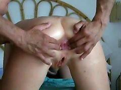 nice milf anal gaping