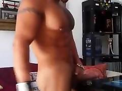 Hot muscle gay with big cock