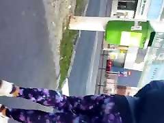 Sporty Teen in Purple Gym Leggings - Domyos Part 2