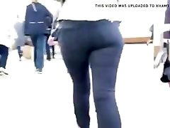 russian big ass in the subway