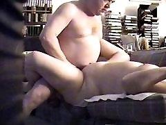 Big Tit BBW MILF Fucked Deep On Hidden Cam