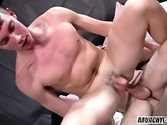 Blond Virgin Teen Tag Teamed By Dad And Friend