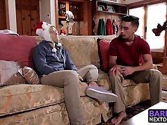 Horny twinks Nate Stone and Ryan Pitt enjoy some bareback