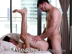ManRoyale Tight ass massage and fuck with Slater James