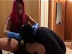 Mistress Red Devil &quotSuck MY Strapon slave!!&quot