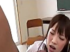 Lewd group sex for asian hottie