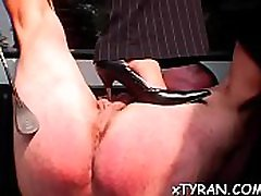 Stunner mouth and vagina fucked