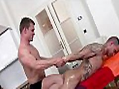 Hot massage for gay guy