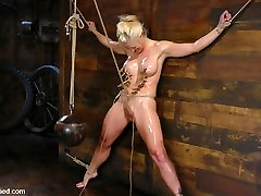 Holly Heart & Maestro in One Tough Bitch: Holly Heart And Maestro - HogTied