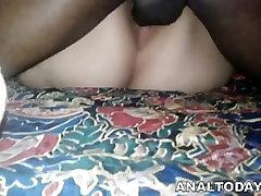 Hot BBW Bitch Gets Big Black Cock Ass Fucking