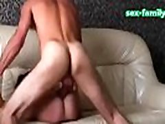 WWW.SEX-FAMILY.COM - Homemade passionate anal sex russian couple