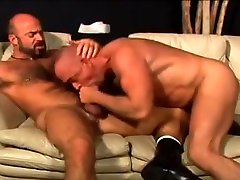 Crazy male in amazing oldy, bears gay adult clip