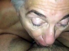 Grandpa suck chub men