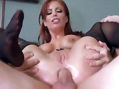 black stocking anal 6