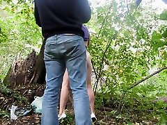 Outdoor oily ass round session