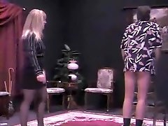 Amazing 3 gils pov BDSM, Blonde adult scene