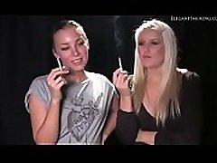 Donnat and Jennny1 smoking 120s elegant smoking fetish