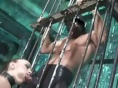 Crazy homemade BDSM, Fetish sex scene