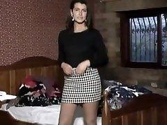 Vintage stockings mature