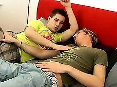Guys masturbating orgasm gay porn movie Bareback Foot