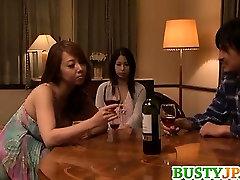 Busty Minami Ayase loves having lesbian softcore